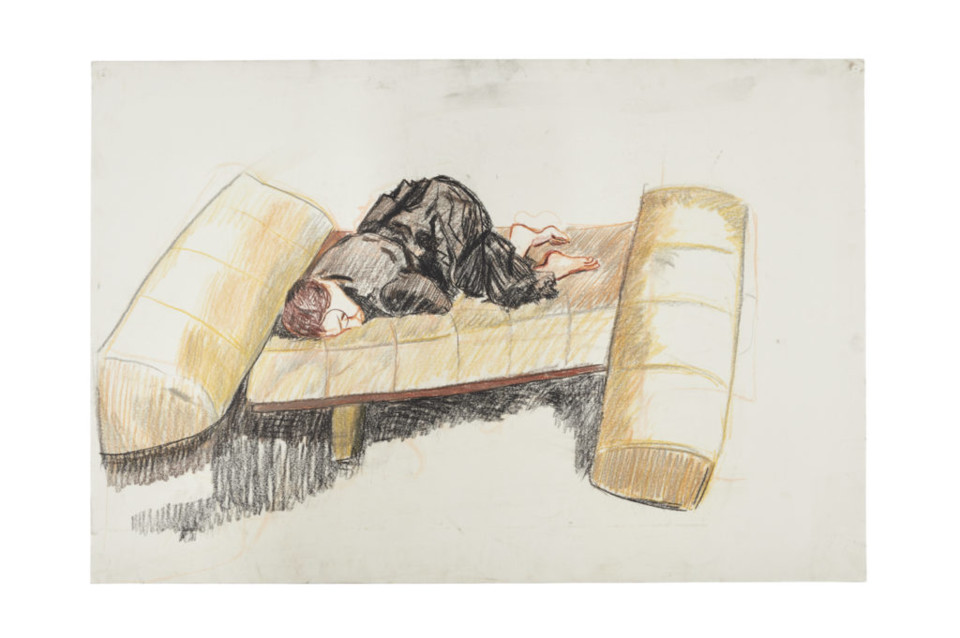 Paula-Rego-Depression-Series-Nine-2007-pastel-on-p