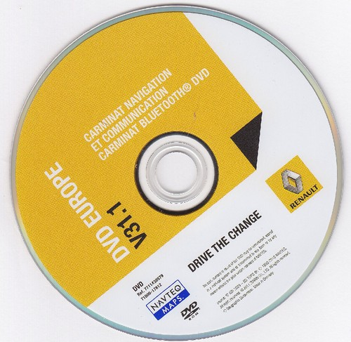 GPS TÉLÉCHARGER CARMINAT RENAULT CD