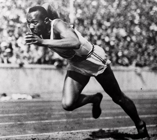 Jesse Owens, um fenómeno...