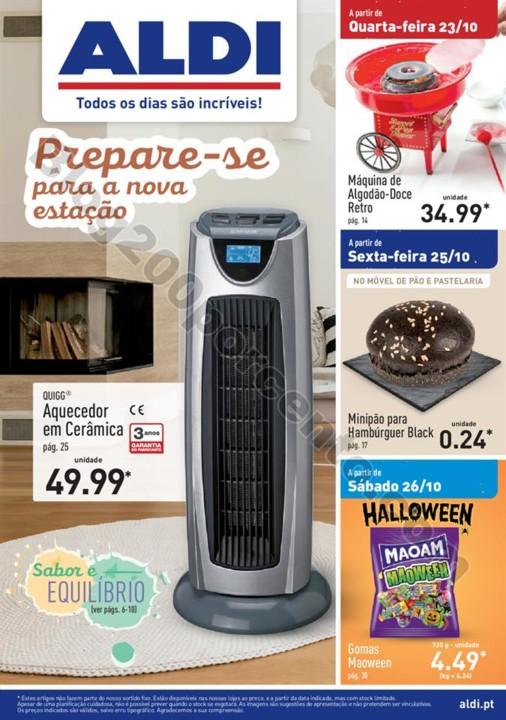 Antevisão Folheto ALDI Promoções a partir de 23