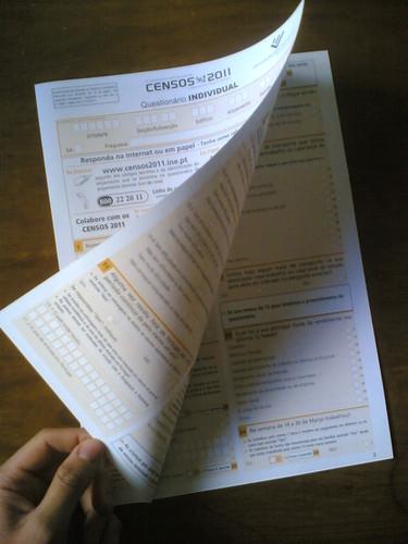 Censos 2011: Páginas