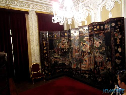 Lisboa - Palácio Nacional da Ajuda - Sala chinesa [en] Lisbon - Ajuda National Palace - Chinese Room