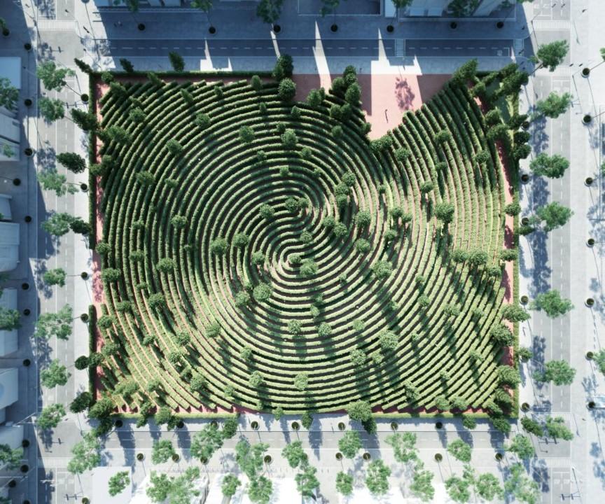 Parque-da-Distância-um-jardim-para-caminhar-onde-