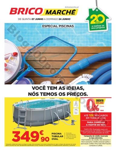 Antevisão Folheto BRICOMARCHÉ  Promoções de 7