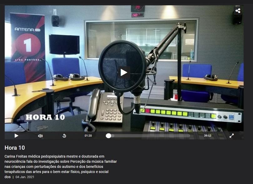 Hora 10 - Antena 1 - com Marta Cília - 4 de Janei