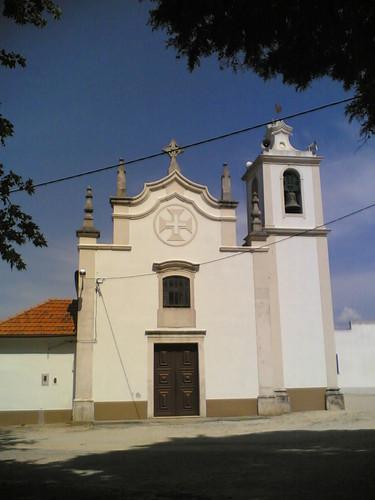 Igreja Matriz de Samuel: Frente (Soure)