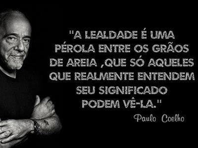 Paulo Coelho, lealdade