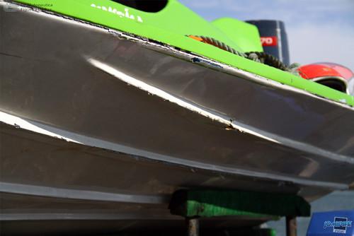 GP Motonautica (140) Tirar T850 - Barco danificado