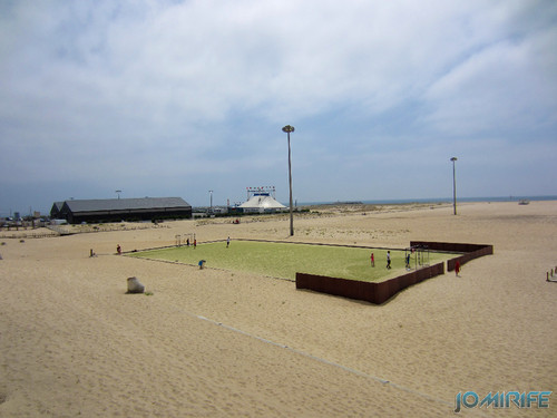 Campos de praia da Figueira da Foz / Buarcos #1 - Futebol em relvado sintético (1) [en] Game fields on the beach of Figueira da Foz / Buarcos - Football on synthetic grass