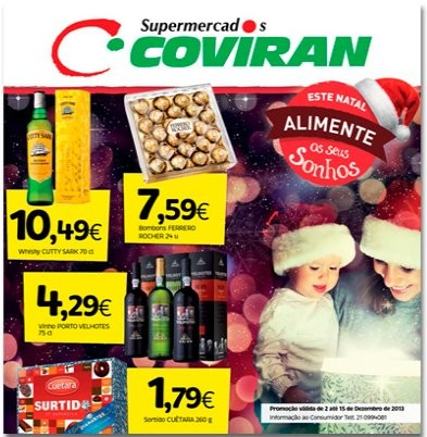 Novo Folheto | COVIRAN | até 15 dezembro