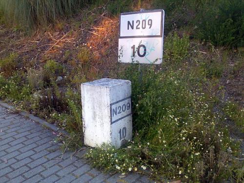 EN 209 - km 10. E.N. 209, km 10 (José A. A. Pereira, 2012)