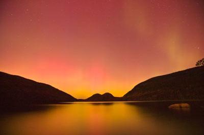 A certeza na aurora boreal...