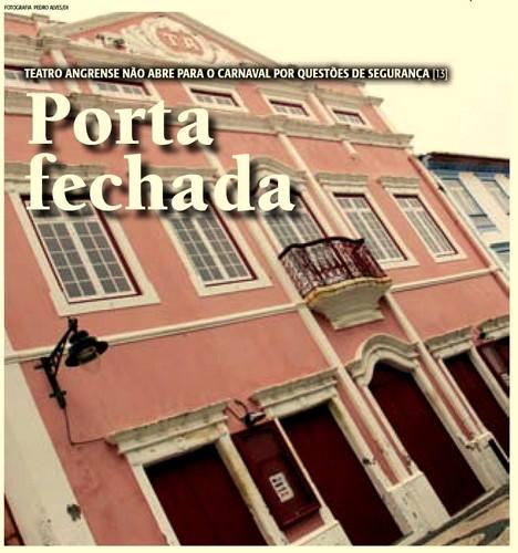 Teatro Angrense sem Bailinhos em 2013...