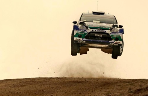 Petter Solberg in the air!