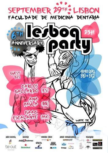 LESBOA PARTY // 6º Aniversário