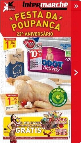 Novos Folhetos Intermarché de 8 a 14 Outubro