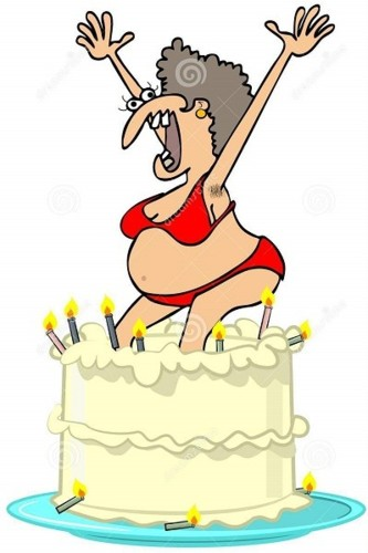 homely-girl-jumping-out-cake-illustration-bikini-8
