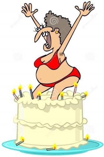homely-girl-jumping-out-cake-illustration-bikini-8