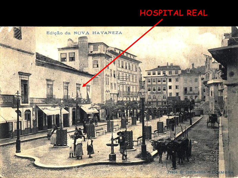 Hospital Real de Coimbra. Foto mais antiga.JPG