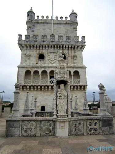 Lisboa - Torre de Belém (8) Pátio [en] Lisbon - Belem Tower - Patio