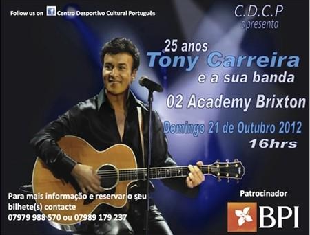 Concerto em Londres - Outubro 2012