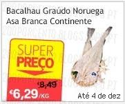 Super Preço | CONTINENTE | Bacalhau