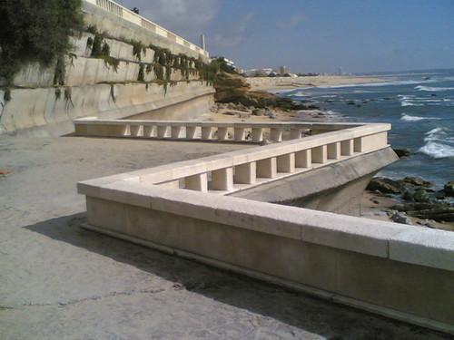 Praia no cabo mondego