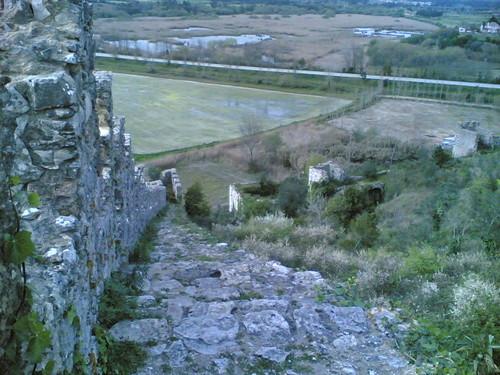 Castelo de Montemor-o-Velho: Muralha Oeste