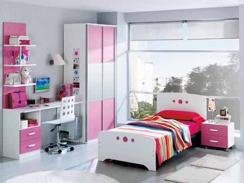 Home office em quartos juvenis decora o e ideias - Slaapkamer tiener meisje foto ...