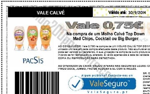 Novo vale CALVE disponível para imprimir