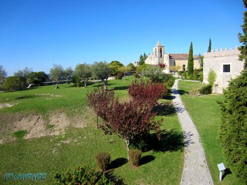 Castelo de Montemor-o-Velho - Jardim e Igreja [en] Castle of Montemor-o-Velho in Portugal