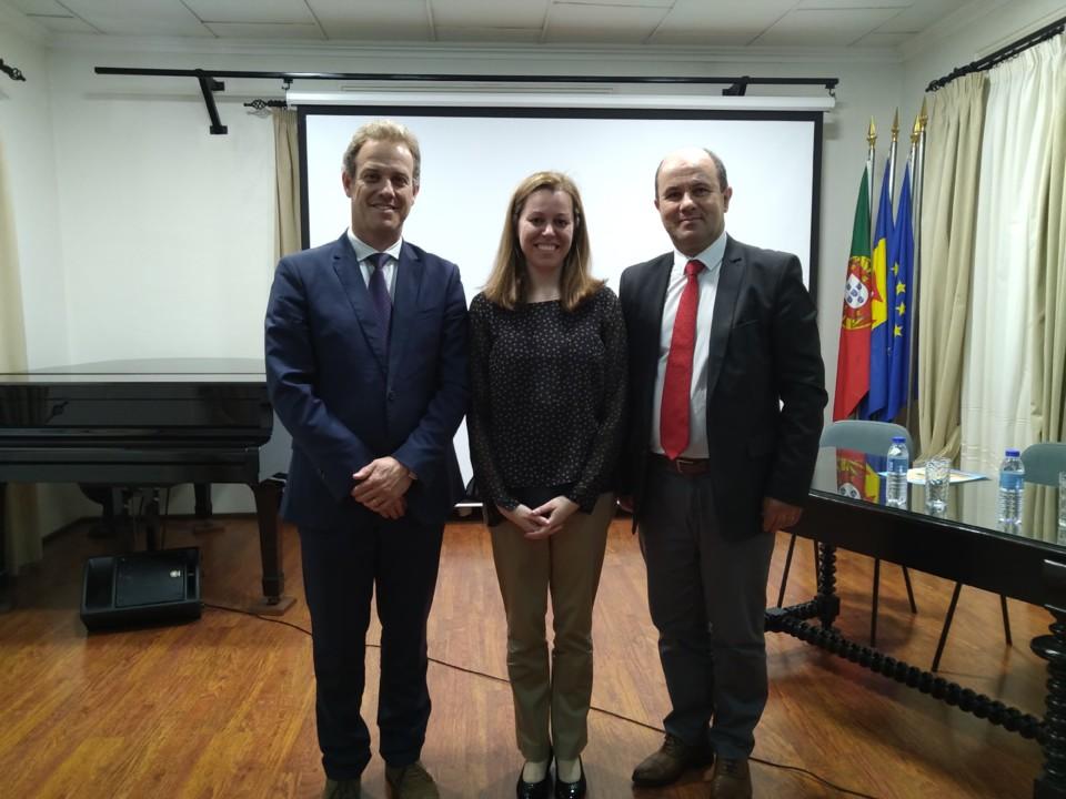 Marco Gomes, Carina Freitas e Virgílio Caldeira.j