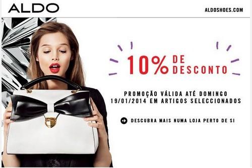 10% de desconto | ALDO | até 19 janeiro