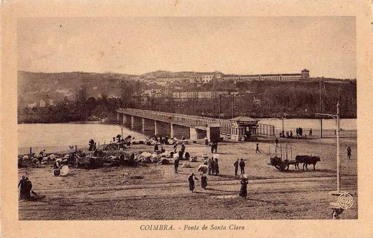 Fig. 03. Ponte metálica de Santa Clara. [Bilhete