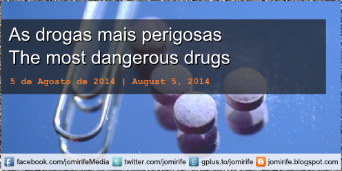 Blog post: As Drogas mais perigosas