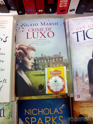 Livro com pacote de chá | Book with tea package
