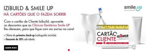 Cartão cliente   IZIBUILD   Oferta de check-up dentário