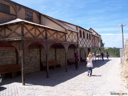 Castelo de Óbidos: Casas antigas