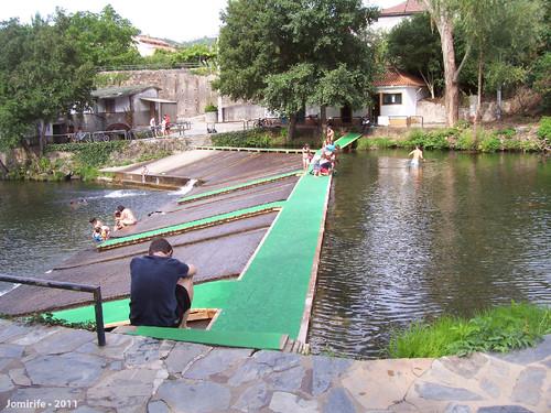 Vila de Góis - Praia fluvial: Passagem