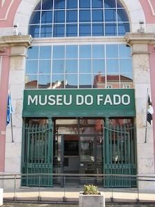 Fachada do Museu do Fado