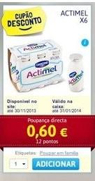 Acumulação Iogurtes | CONTINENTE | Danone Actimel