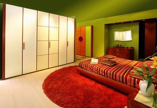 Quartos para sonhar acordado Decoração e Ideias ~ Quarto Verde Com Vermelho
