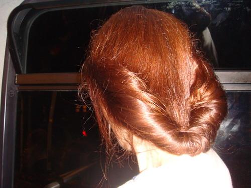 Vintage Midnight Walk hairdo