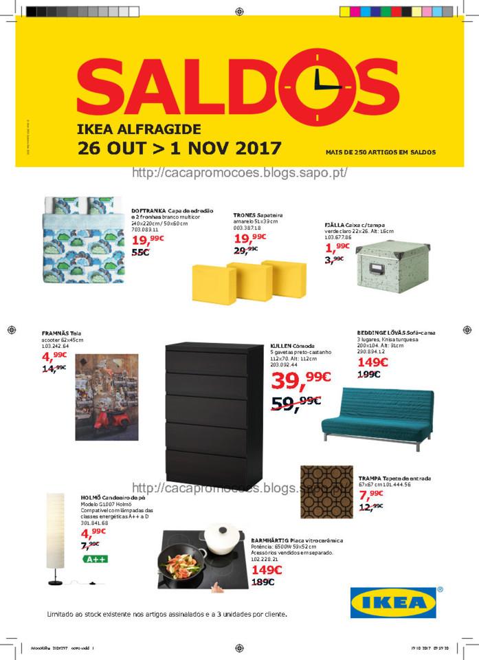 Folheto IKEA Alfragide_Saldos (Outubro 2017)_Page1