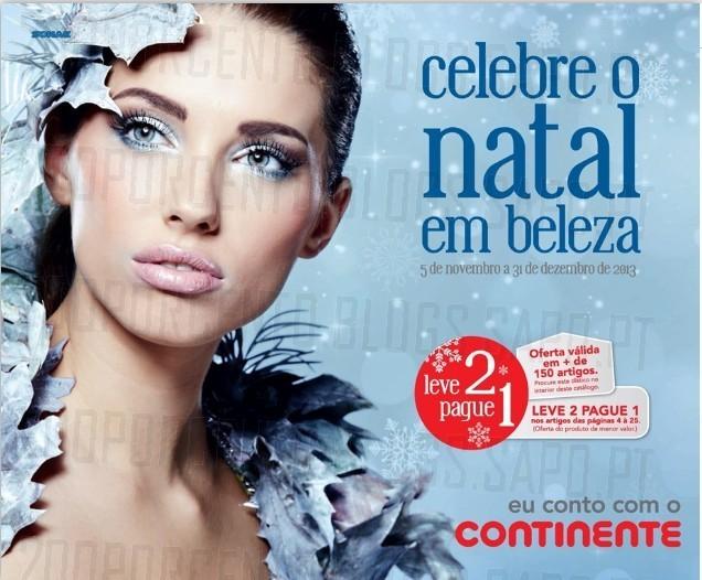 Novo Folheto | CONTINENTE | Celebre o Natal em Beleza, de 5 novembro a 31 dezembro