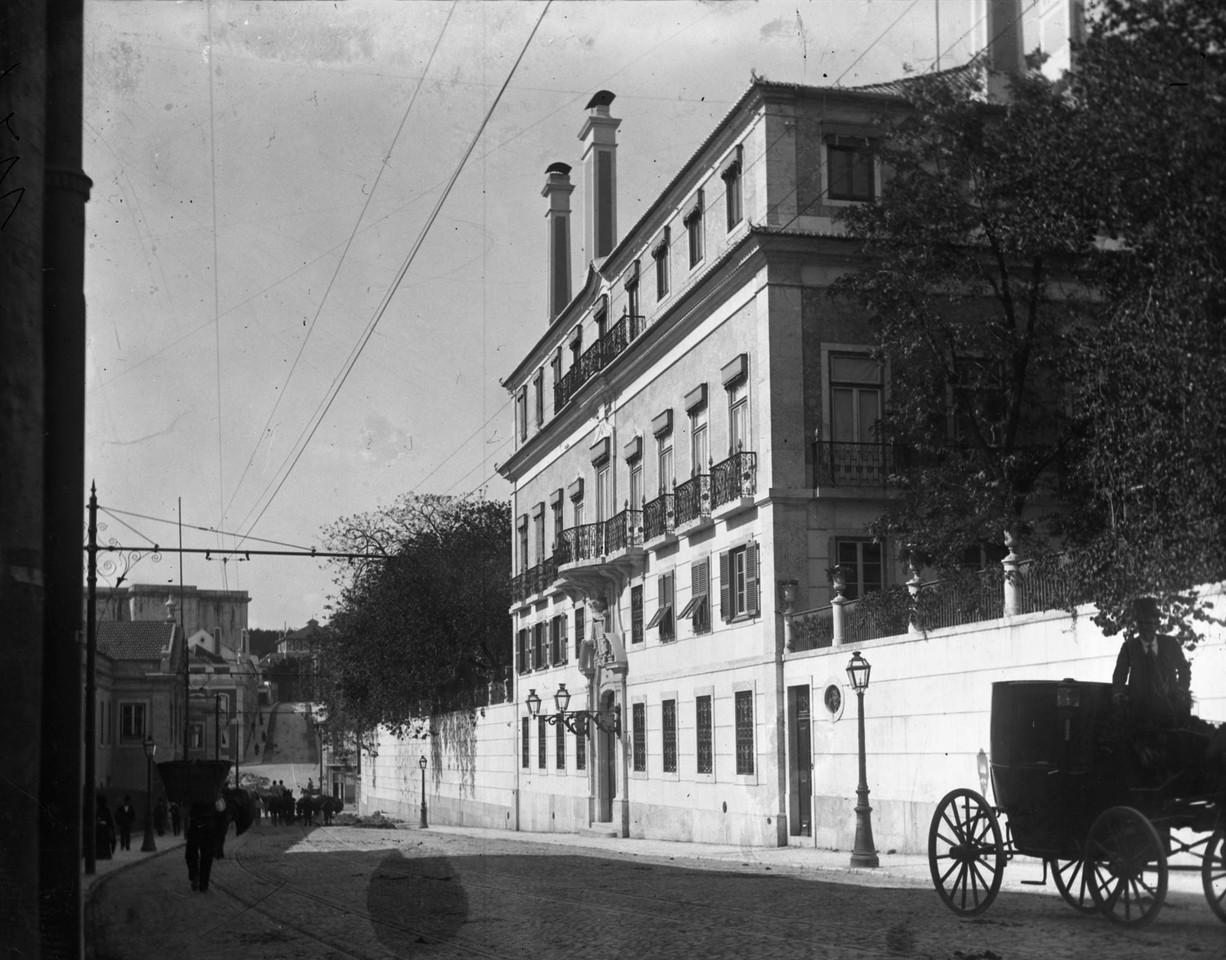 Palácio dos Duques de Palmela, ant. a 1902, fotó