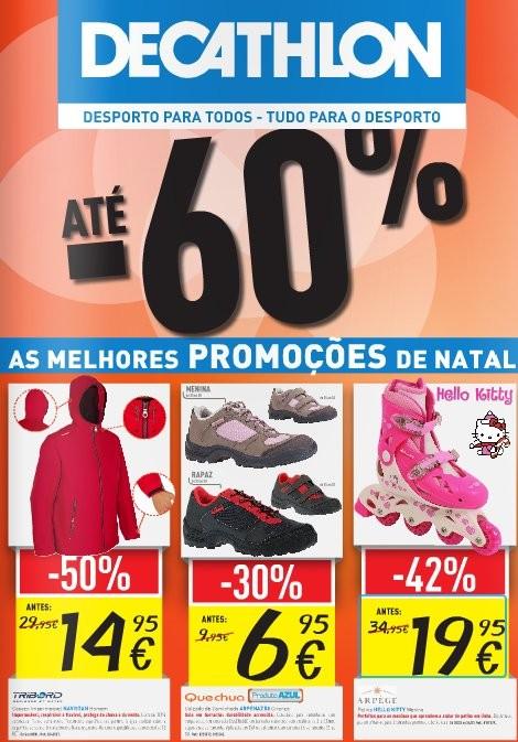 Antevisão folheto | DECATHLON | com descontos até 60%