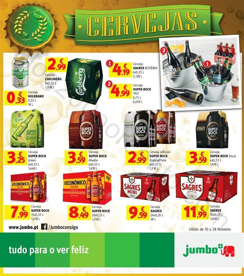 Antevisão Especial Cervejas JUMBO Promoções de