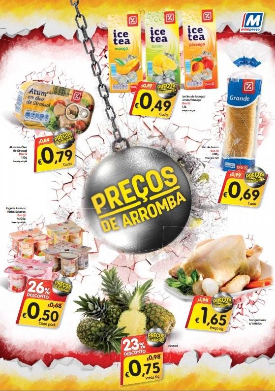 Preços de arromba | MINI PREÇO | de 10 a 23 janeiro