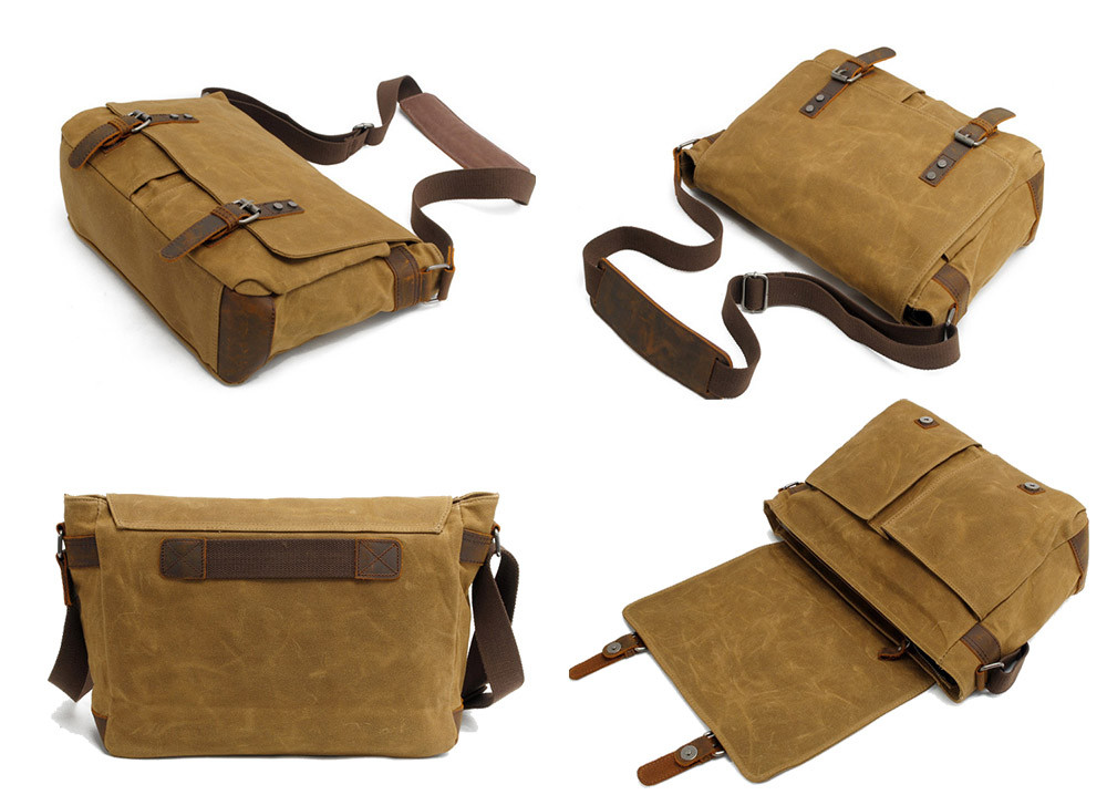 bolsas para os homens malas masculinas de canvas e
